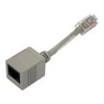 Lantronix ADP010104-01 RJ45 RJ45 Grey cable interface/gender adapter
