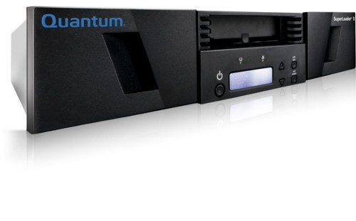 Quantum SuperLoader 3 tape auto loader/library 192000 GB 2U Black