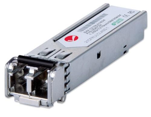 Intellinet Gigabit Ethernet SFP Mini-GBIC Transceiver, 1000Base-Lx (LC) Single-Mode Port, 20km