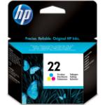 HP 22 Origineel Cyaan, Magenta, Geel 1 stuk(s)