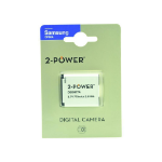 2-Power Digital Camera Battery 3.7v 770mAh
