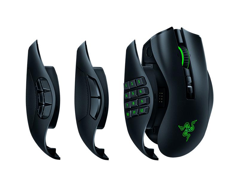 Razer Naga Pro mouse Right-hand RF Wireless Optical 20000 DPI