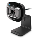 Microsoft LifeCam HD-3000 webcam 1 MP 1280 x 720 Pixels USB 2.0 Zwart