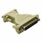 C2G DB9/DB25 Modem Adapter DB9 DB25 Grey cable interface/gender adapter
