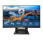 "Philips B Line 222B1TC/00 touch screen monitor 54.6 cm (21.5"") 1920 x 1080 pixels Multi-touch Black"