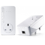 Devolo dLAN 650+ 600Mbit/s Ethernet LAN White 1pc(s) PowerLine network adapter