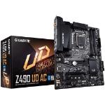 Gigabyte Z490 UD AC Intel ATX Motherboard 4xDDR4 3xPCIe 2xM.2 6xSATA LAN 10th Gen LGA1200 WF 6xUSB3.2 4xUSB2.