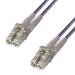 Group Gear 36-0050LCLC/P fiber optic cable 5 m LSZH OM4 LC Purple