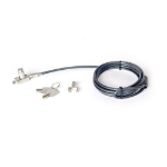 DELL 1DJXC cable antirrobo Negro