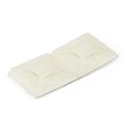 StarTech.com CBMCTM2 cable tie mount White Nylon 100 pc(s)