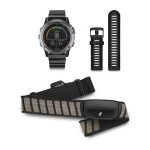 Garmin Fenix 3 Bluetooth Black,Metallic sport watch