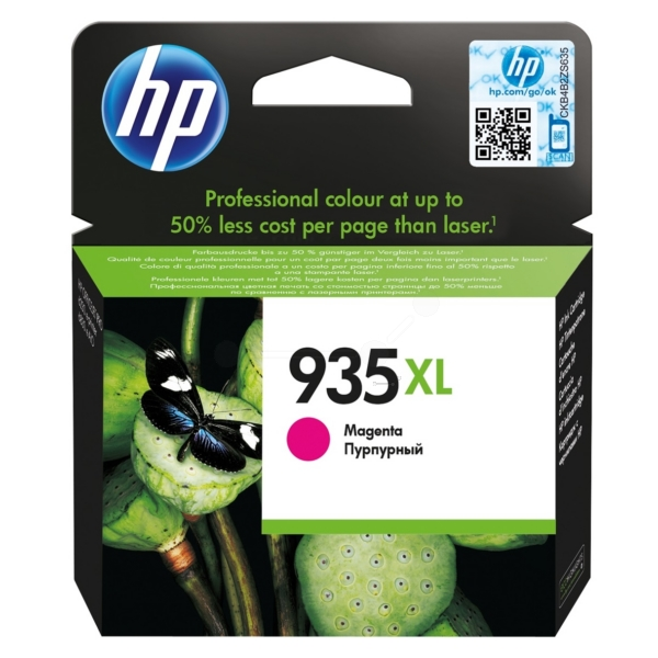HP C2P25AE#301 (935XL) Ink cartridge magenta, 825 pages, 10ml