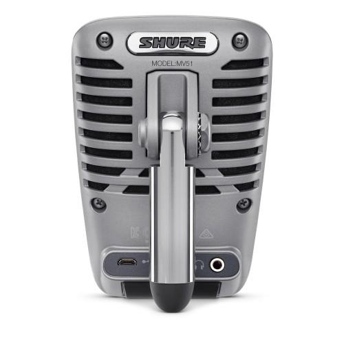Shure MOTIV MV51 Digital camcorder microphone Grey