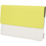 """Lenovo ZG38C00558 tablet case 25.4 cm (10"""") Sleeve case White,Yellow"""