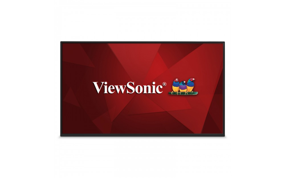 "Viewsonic CDM4300R Digital signage flat panel 43"" LED Full HD Wi-Fi Black signage display"