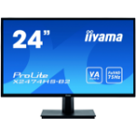 "iiyama ProLite X2474HS-B2 computer monitor 59.9 cm (23.6"") 1920 x 1080 pixels Full HD LED Black"