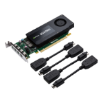 PNY VCQK1200DP-PB Quadro K1200 4GB GDDR5 graphics card