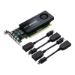 PNY VCQK1200DP-PB Quadro K1200 4GB GDDR5 graphics card
