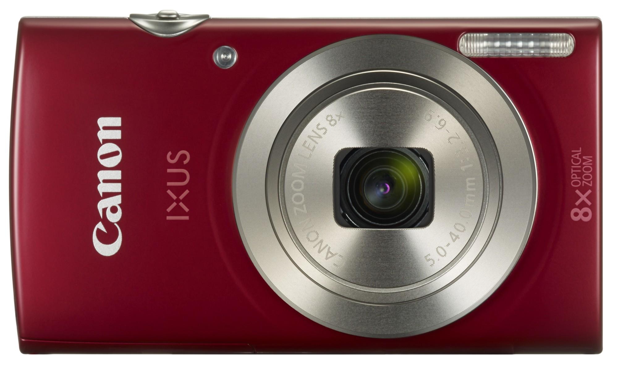 Ixus 185 Red 20mpix 8x Opt Zoom