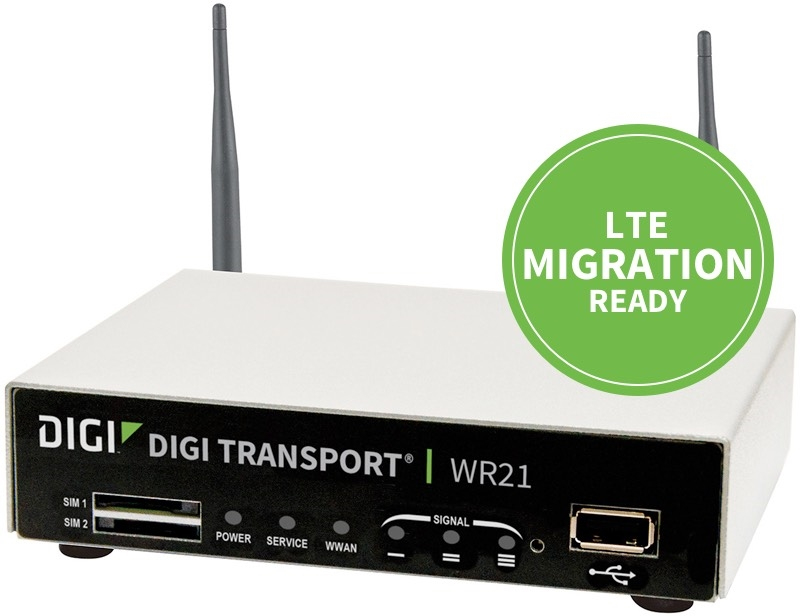 Digi WR21-M72B-DE1-SB gateway/controller