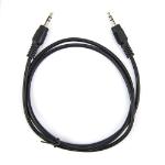 """Rocstor Y10C188-B1 audio cable 39.4"""" (1 m) 3.5mm Black"""