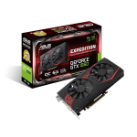 ASUS EX-GTX1060-6G GeForce GTX 1060 6GB GDDR5 graphics card