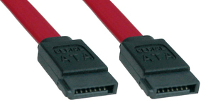 Lindy 1m SATA cable Red SATA 7-Pin