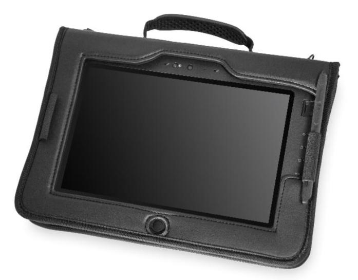 """Zebra 410058 tablet case 25.6 cm (10.1"""") Folio Black"""
