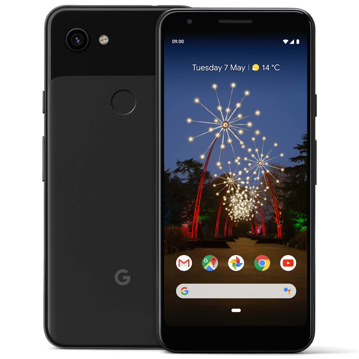 "Google Pixel 3a XL 15.2 cm (6"") 4 GB 64 GB Dual SIM 4G Black 3700 mAh"