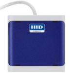 HID Identity OMNIKEY 5022 Indoor USB 2.0 Blue smart card reader