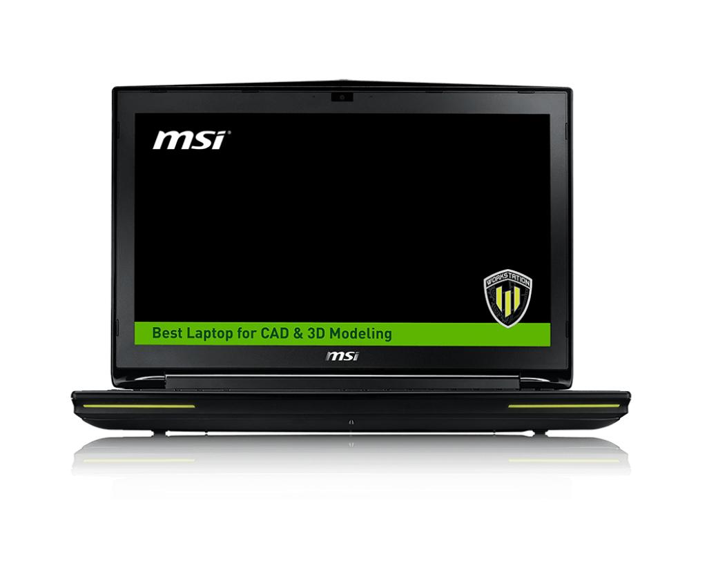"""MSI Workstation WT72 2OM-1420UK 2.6GHz i7-4720HQ 17.3"""" 1920 x 1080pixels Black"""