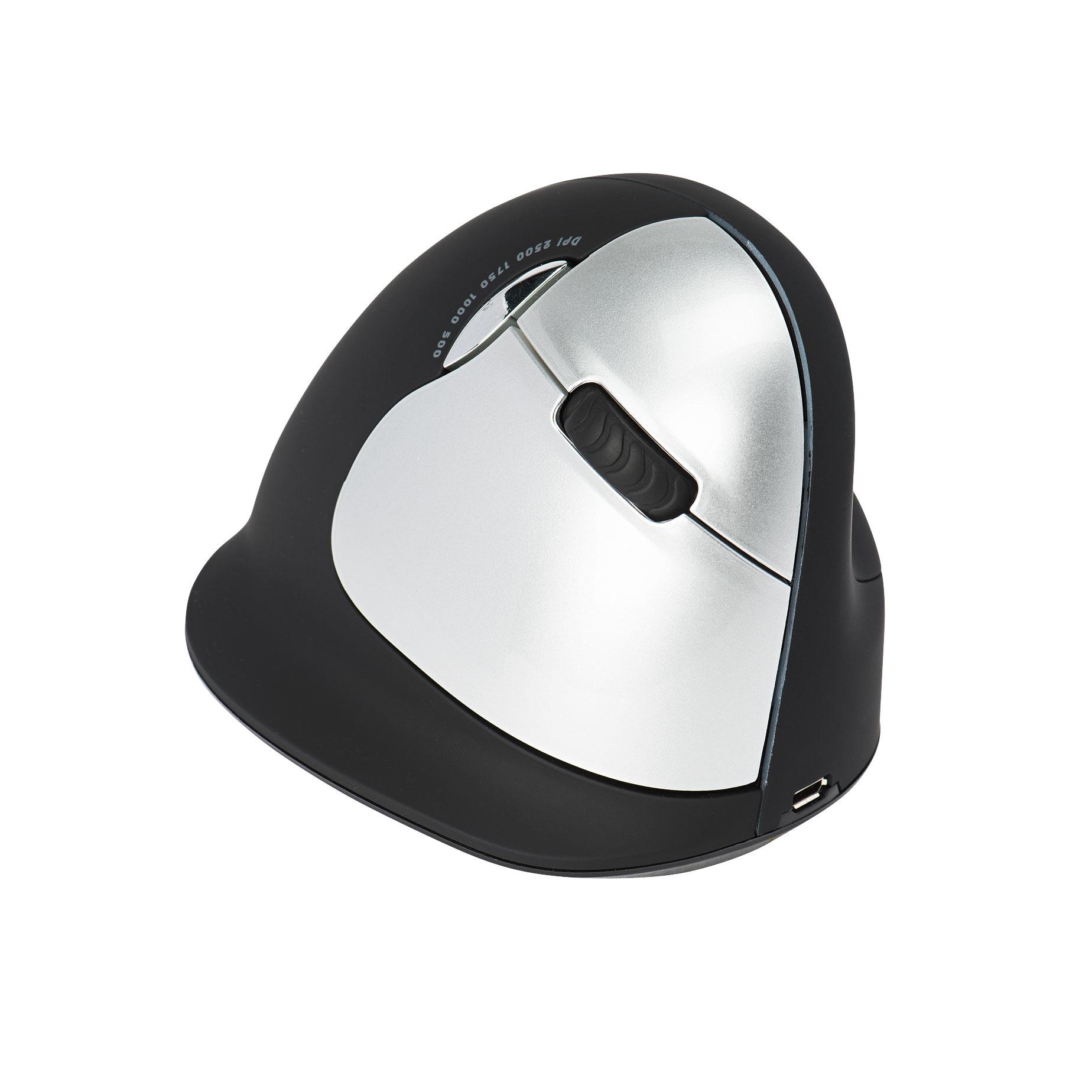 R-Go Tools R-Go HE Mouse, Ergonomisch muis, Large (Handlengte boven de 185mm), Rechtshandig, draadloos
