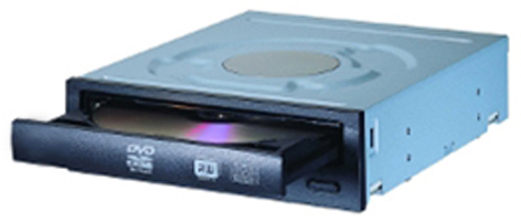 Lite-On IHAS124 Internal DVD Super Multi DL Black optical disc drive