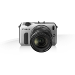 Canon EOS M + EF-M 18-55mm + 90EX SLR camerakit 18MP CMOS 5184 x 3456Pixels Zilver