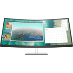 "HP E344c 86.4 cm (34"") 3440 x 1440 pixels WQHD LED Black,Silver"