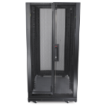 APC NetShelter SX 24U 600mm x 1070mm Deep Enclosure Freestanding rack Black rack