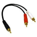 C2G Value Series RCA Plug/RCA Plug x2 Y-Cable