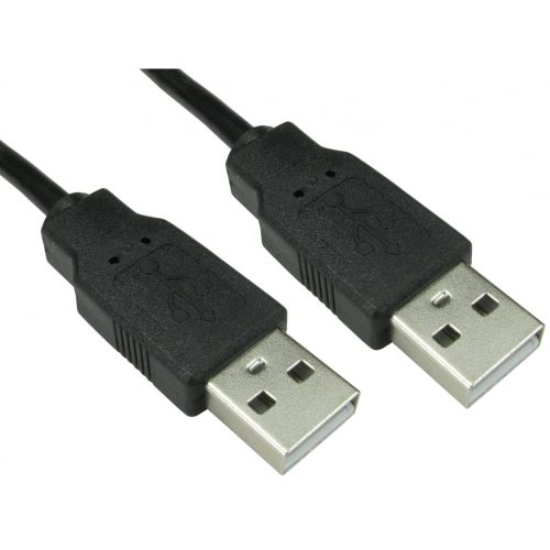 USB 2.0 Type-A Cable, Male to Male, 1 Metre