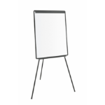 Bi-Office Economic Drywipe Tripod Easel Black A1 DD