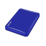 "Toshiba Canvio Connect II 2.5"" 3TB 3000GB Blue external hard drive"