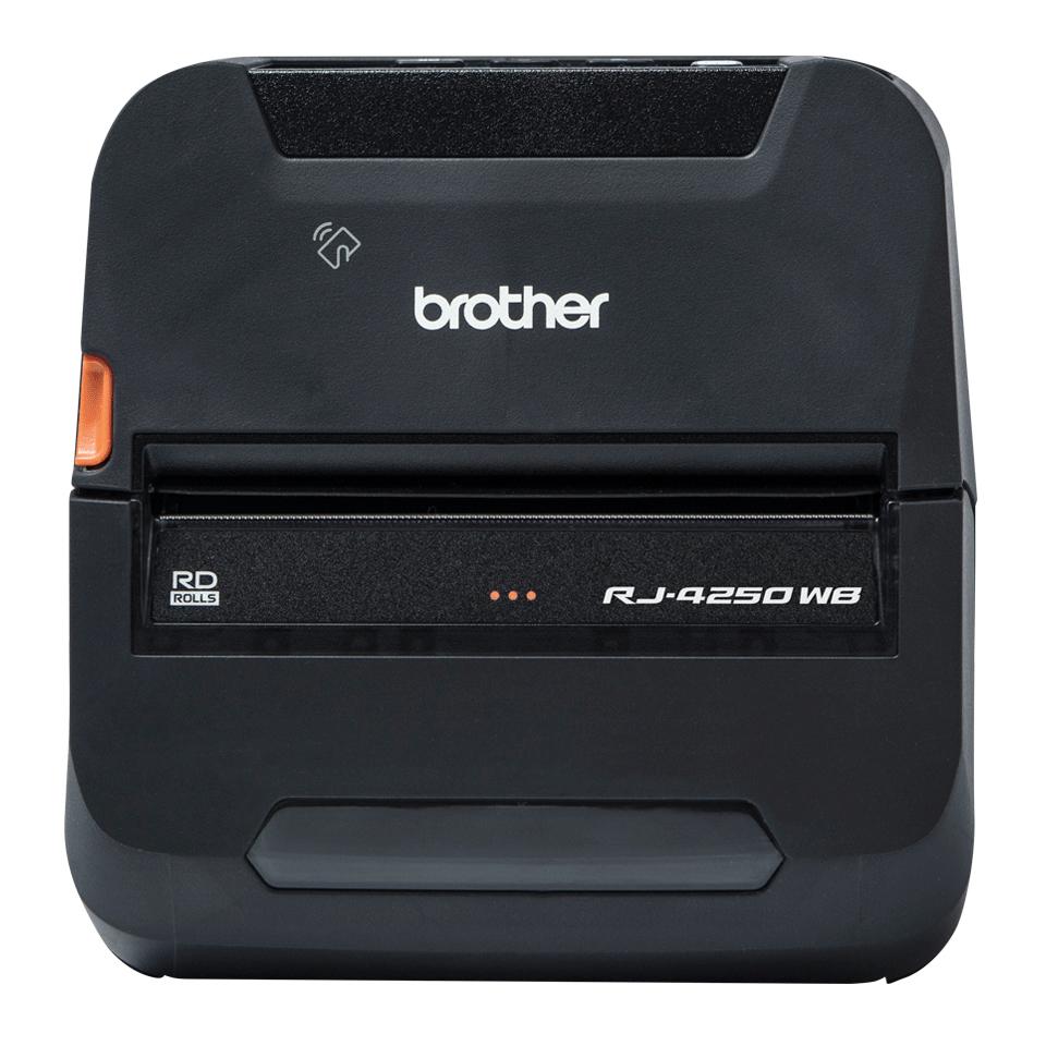 Brother RJ-4250WB impresora de etiquetas 203 x 203 DPI Inalámbrico y alámbrico