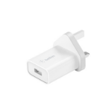 Belkin WCA001MYWH mobile device charger Indoor White