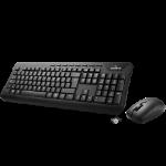 Gigabyte GIGA wireless keyboard and mouse combo, 2.4Ghz wireless tech, spill-resistant, 1300dpi Ergoromic Opt
