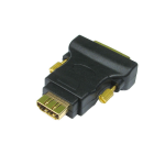 Cables Direct CDL-DV006 cable interface/gender adapter DVI-D 19-p HDMI F Black