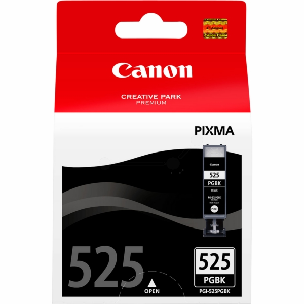 Canon 4529B001 (525 PGBK) Ink cartridge black, 311 pages, 19ml
