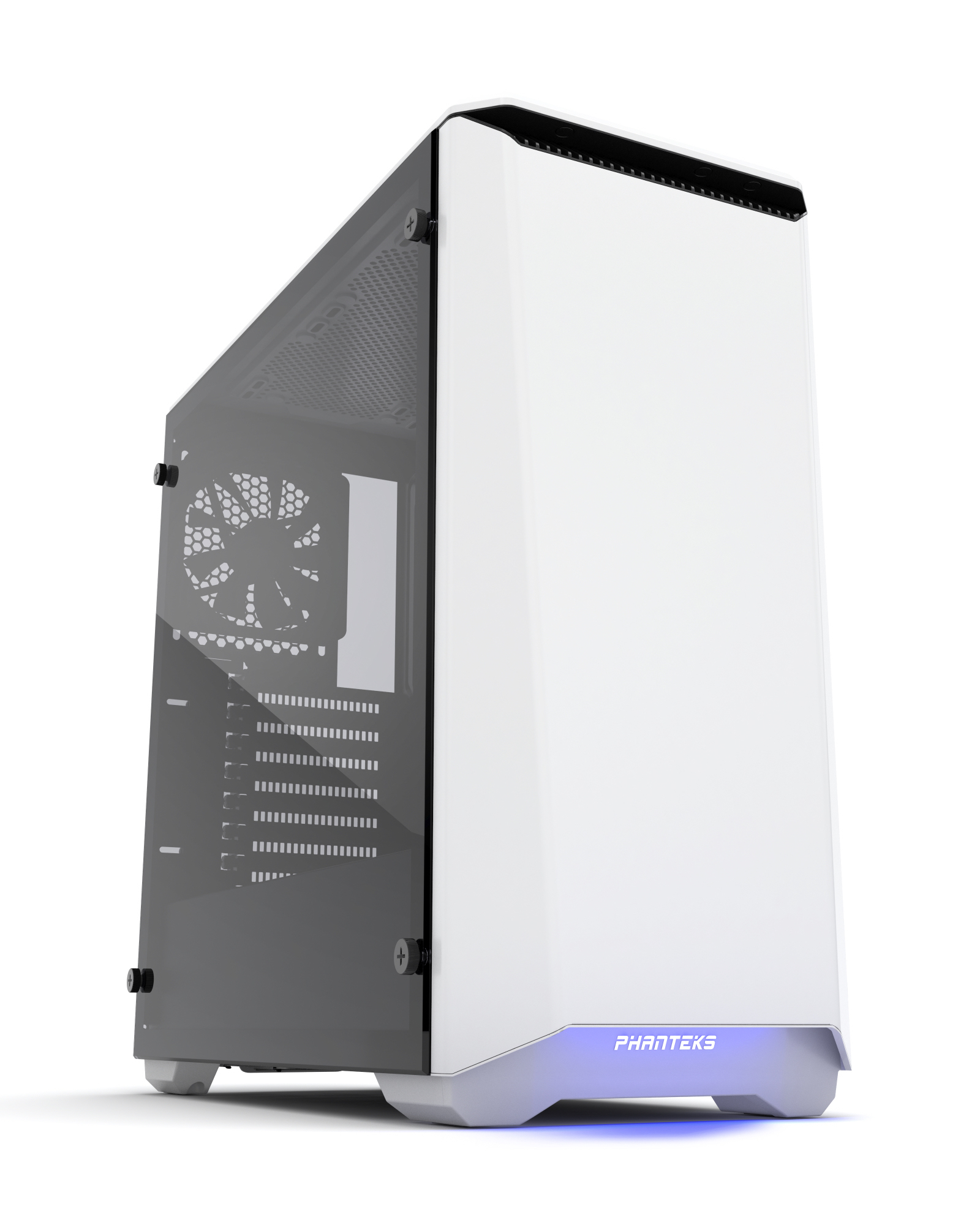 Phanteks Eclipse P400S Tempered Glass Midi-Tower White
