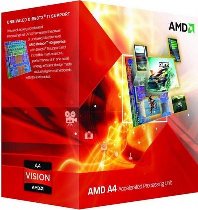 AMD A series A4-6300 3.7GHz 1MB L2 Box processor