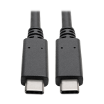 Tripp Lite USB 3.1 Gen 2 (10 Gbps) Cable with 5A Rating, USB-C to USB-C (M/M), 0.91 m