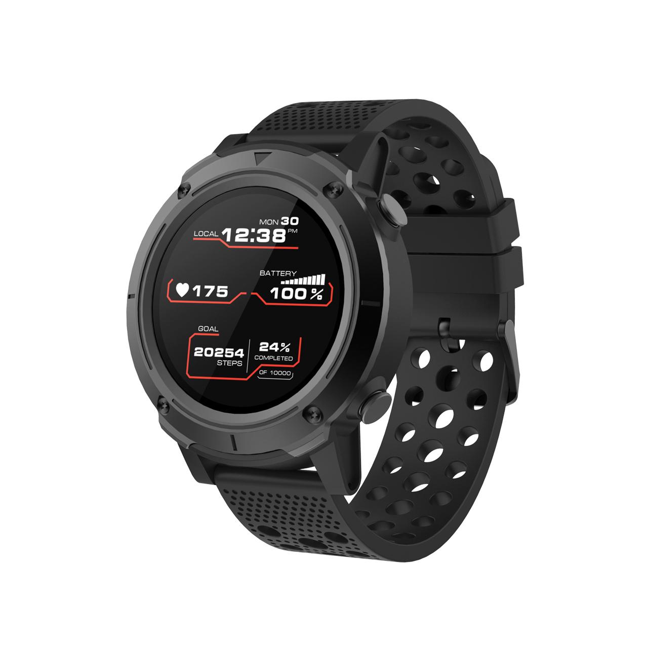 "Canyon CNS-SW82BB smartwatch 3.3 cm (1.3"") Black GPS (satellite)"