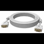 Vision 2x VGA 15-pin D-Sub, 5m cable VGA VGA (D-Sub) Blanco